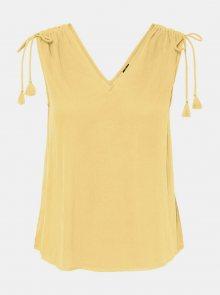 Vero Moda žlutý top Penelope - M