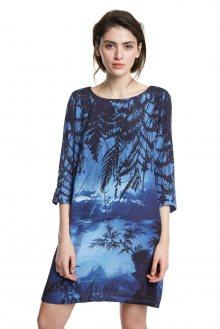 Desigual modré šaty Vest Bruna - 36