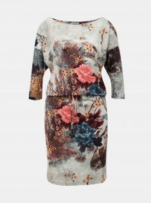 Numoco barevné šaty - XS