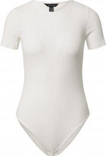 NEW LOOK Tričkové body offwhite