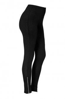 Legíny se zipem na konci nohavic / černá