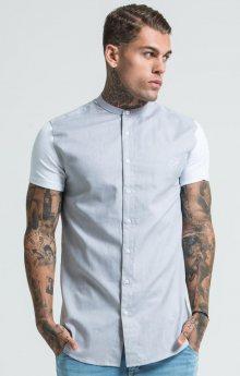 Pánske Tričko Jersey Short Sleeve Shirt With Contrast Sleeves L
