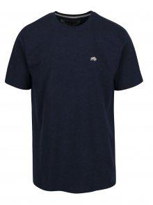 Tmavě modré tričko s výšivkou loga Raging Bull