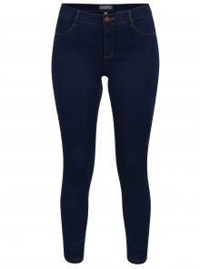 Tmavě modré super skinny zkrácené džíny Dorothy Perkins