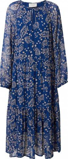 Cecilie Copenhagen Šaty \'Stine\' béžová / modrá