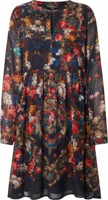 PRINCESS GOES HOLLYWOOD Košilové šaty černá / mix barev