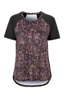Sportovní tričko se vzorem / se vzorem/černá