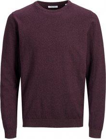 Jack&Jones Pánský svetr JJEBASIC 12137190 Port Royale L