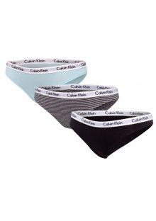 Dámské kalhotky Calvin Klein QD3588 3PACK QT6 S Mix