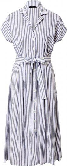 Trendyol Šaty bílá / modrá