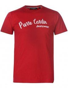Pánské červené tričko Pierre Cardin