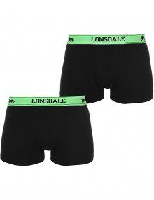 Pánské pohodlné boxerky Lonsdale - 2 ks