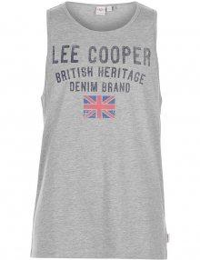 Pánský bavlněný nátělník Lee Cooper