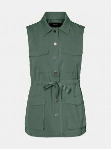 Vero Moda zelená vesta Paula - XS