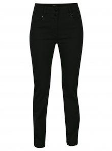 Černé straight džíny s vysokým pasem M&Co