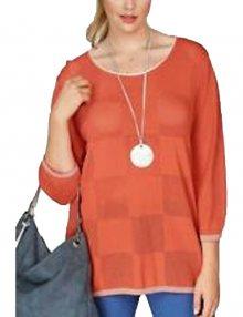 Elegantní dámský pletený svetr