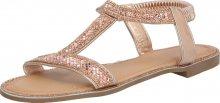 ZABAIONE Sandály růžově zlatá