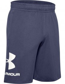 Pánské kraťasy Under Armour SPORTSTYLE COTTON GRAPHIC SHORT-BLK