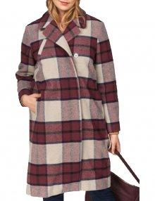 Dámský kostkovaný kabát Vero Moda