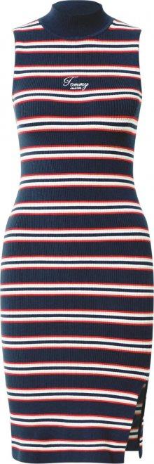 Tommy Jeans Šaty námořnická modř / bílá