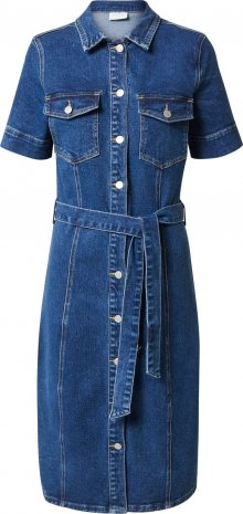 VILA Košilové šaty \'GLOVIN\' modrá džínovina