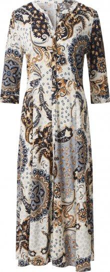Soyaconcept Košilové šaty \'Kiana 3\' mix barev / béžová / tmavě modrá / světlemodrá