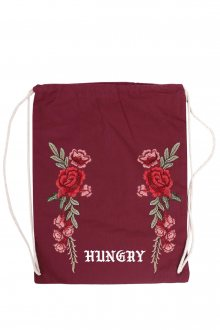 Vak Canvas Hungry Rose s nášivkou