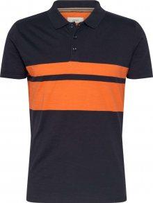 ESPRIT Tričko oranžová / námořnická modř