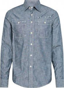 G-Star RAW Košile \'Kinec\' modrý melír