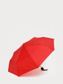 Červený skládací deštník Doppler