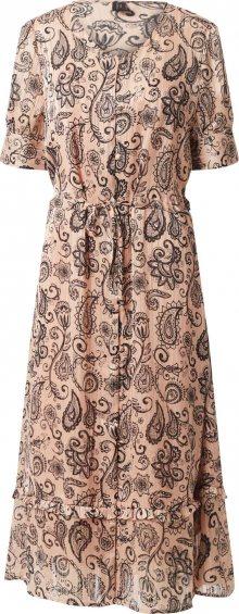 Soyaconcept Košilové šaty \'KIRA\' mix barev / růže