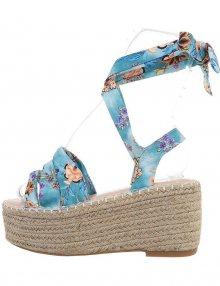 Dámské klínové sandály