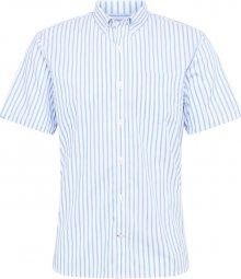 GAP Košile \'PERFORMANCE\' modrá / bílá