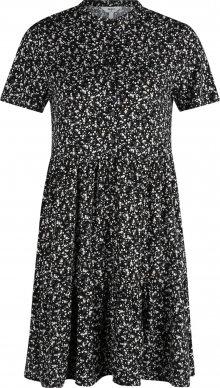 OBJECT (Petite) Šaty \'Jenga\' černá / bílá / šedá / hnědá