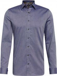 OLYMP Košile \'No. 6\' marine modrá