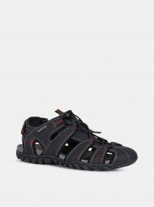 Černé pánské sandály Geox Sand.Mito - 42
