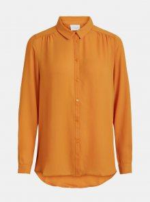 Oranžová košile VILA - M