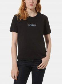Černé dámské tričko VANS - L
