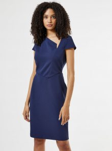 Tmavě modré pouzdrové šaty Dorothy Perkins - M