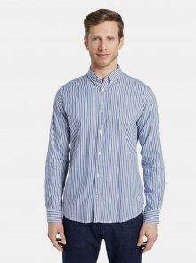 Světle modrá pánská pruhovaná košile Tom Tailor  - L