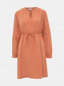 Oranžové šaty VILA Joan - S