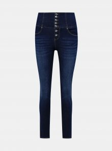 Modré skinny fit džíny TALLY WEiJL Voky - XS