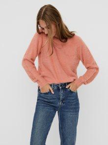 Růžový svetr Noisy May Jess - S