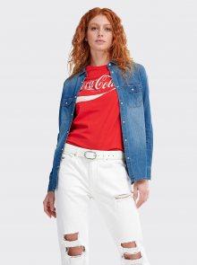 Modrá dámská džínová košile Alcott - S