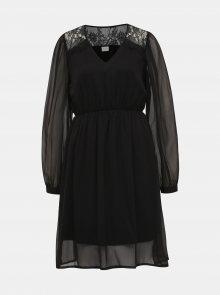 Černé šaty VILA Gracy - L