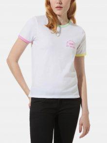 Bílé dámské tričko VANS - M