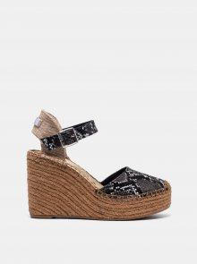 Šedé sandálky s hadím vzorem Replay - 36