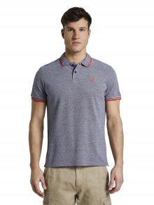 Modré pánské polo tričko Tom Tailor - M
