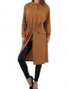 Dámský hnědý kabátek