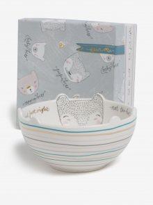Krémová miska s motivy medvídků v dárkové krabičce Disaster